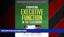 READ book  Promoting Executive Function in the Classroom (What Works for Special-Needs Learners)
