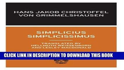 simplicissimus dedalus european classics
