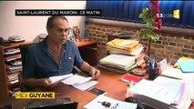 Interview réalisée par ma nièce Alice pour Midi 1ère Guyane - Motion du conseil municipal de St Laurent du Maroni