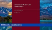 Books to Read  Entertainment Law and Practice 2012 Supplement  Best Seller Books Most Wanted
