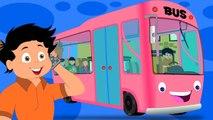 Колеса на автобусе | потешки | образовательных видео для детей | Wheels On The Bus For Kids