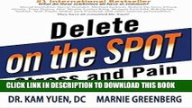 [PDF] Delete Stress and Pain on the Spot Popular Colection