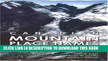 New Book Canadian Mountain Place Names: The Rockies and Columbia Mountains