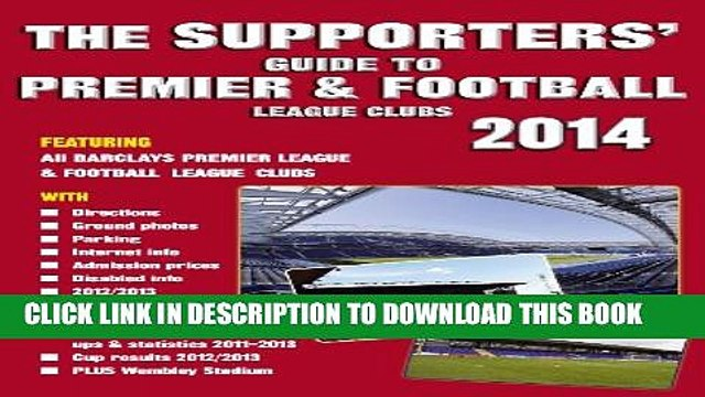 [PDF] The Supporters  Guide to Premier   Football League Clubs 2014 Popular Online
