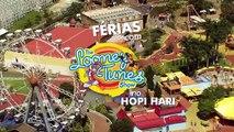 Férias com Looney Tunes no Hopi Hari
