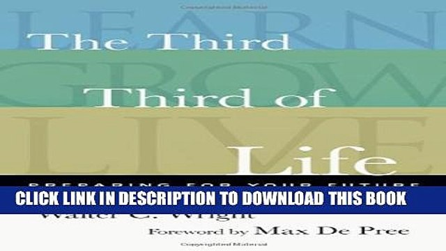 [PDF] The Third Third of Life: Preparing for Your Future Full Colection