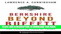 [PDF] Berkshire Beyond Buffett: The Enduring Value of Values Full Colection
