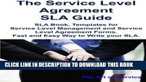 Collection Book The Service Level Agreement SLA Guide - SLA Book, Templates for Service Level