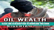 Collection Book Oil Wealth and Insurgency in Nigeria
