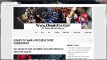 How to Get Gears of War 4 Redeem Code Generator Free on PC PS3 PS4 Xbox One Xbox 360