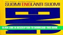 New Book Gummeruksen suomi-englanti-suomi taskusanakirja /Finnish-English and English-Finnish