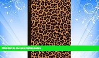 Popular Book Leopard Print: Gifts / Gift / Presents ( Leopard Skin / Fur - Ruled Notebook ) [