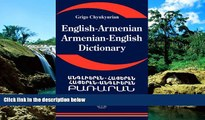 Must Have PDF  English Armenian; Armenian English Dictionary: A Dictionary of the Armenian