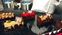 Les bûches interactives du maître chocolatier vervietois Jean-Philippe Darcis