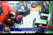 Policía identifica a delincuentes que asaltaron pollería en Chorrillos