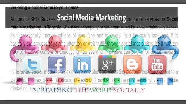 Social Media Marketing in Toronto