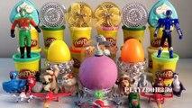 PLAY DOH SURPRISE EGGS with Surprise Toys,Disney, Shrek,Dota 2,Snoopy,Ice Age,Rio 2,Disney Planes,Surprise Eggs Video