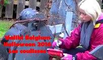 Walibi Belgium Halloween 2016 Les coulisses