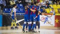 [HIGHLIGHTS] HOQUEI PATINS (OK Liga): FC Barcelona Lassa – Caldes (4-1)