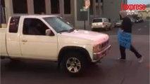 États-Unis: un homme en pick-up fonce sur des manifestants dans le Nevada