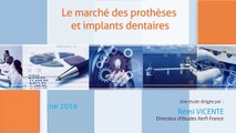 Alexandre Boulègue, Le marché des prothèses et implants dentaires