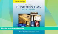 Big Deals  Cengage Advantage Books: Business Law: Text and Exercises (with 2008 Online Research