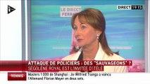 """""""Des sauvageons"""" : Ségolène Royal vole au secours de Bernard Cazeneuve"""