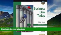 Books to Read  Business Law Today, The Essentials: Text, Summarized Cases, Legal, Ethical,