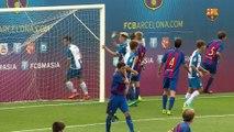 [HIGHLIGHTS] FUTBOL (Juvenil B): FC Barcelona – RCD Espanyol (1-0)