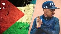 Soprano : «  Quand je dis 'certains pays rétrécissent', je parle de la Palestine... »