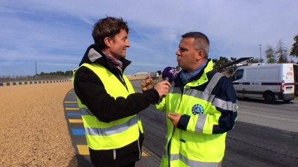 ITW Ghislain Robert - Travaux de refection circuit Bugatti 2016