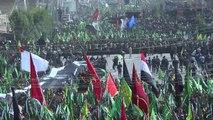 مئات الاف الشيعة يحيون ذكرى عاشوراء