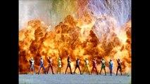 Power Rangers Dino Thunder with Ninja Storm Rangers and Abaranger vs Hurricanger Roll Call