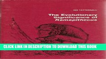 [PDF] The Evolutionary Significance of Ramapithecus (Modules in Modern Physical Anthropology) Full
