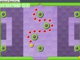 vidéo motion ball course orange