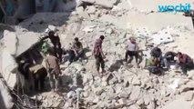 Air Strikes Kill 25 In Eastern Aleppo