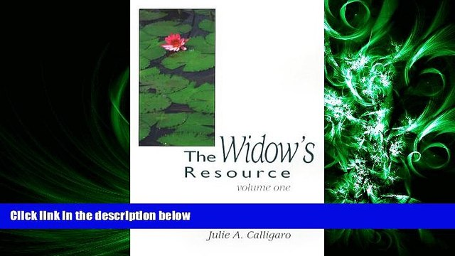 read here  The Widow s Resource: Volume One How to Solve the Financial and Legal Problems That