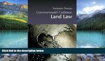 Big Deals  Commonwealth Caribbean Land Law (Commonwealth Caribbean Law)  Best Seller Books Best