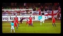 Are you watching, Pep? England's Joe Hart produced stunning saves vs Slovenia