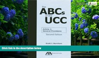 Big Deals  The ABCs of the UCC Article 1: General Provisions  Best Seller Books Best Seller