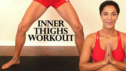 Inner Thigh & Glute Workout, 20 Minute Beginners Home Cardio Lean Legs Exercises & Butt Lift