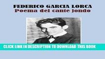 [PDF] POEMA DEL CANTE JONDO (Spanish Edition) Full Colection