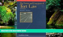 Must Have  The Forms and Functions of Tort Law (Concepts and Insights)  READ Ebook Full Ebook