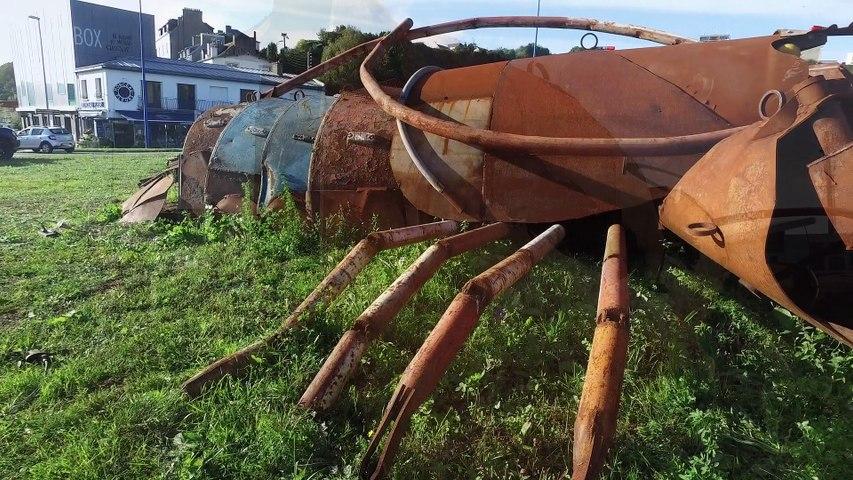 Marc MORVAN, Homard Géant à Brest