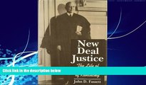 Big Deals  New Deal Justice: The Life of Stanley Reed of Kentucky  Best Seller Books Most Wanted