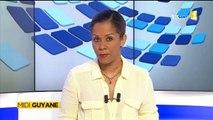 Reportage de ma nièce Alice pour Midi 1ère Guyane - Visite de barbara Pompili dans l'ouest guyanais