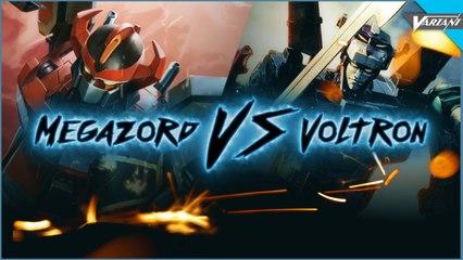 Power Rangers Megazord VS Voltron! (Live Action Battle)