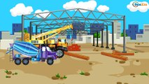 Car Kids Cartoon. Monster Truck - Vehicle Launch. Cartoons about Trucks & Cars Episode 11
