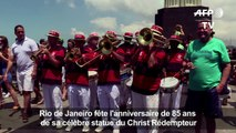 Le Crist Rédempteur de Rio fête ses 85 ans