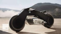 BMW just revealed a self-correcting motorcycle you can ride without a helmet